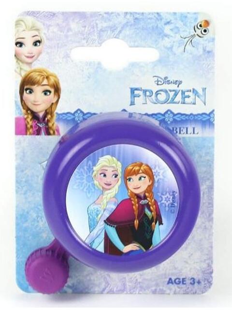 Diverse Frozen fietsbel violet/bont